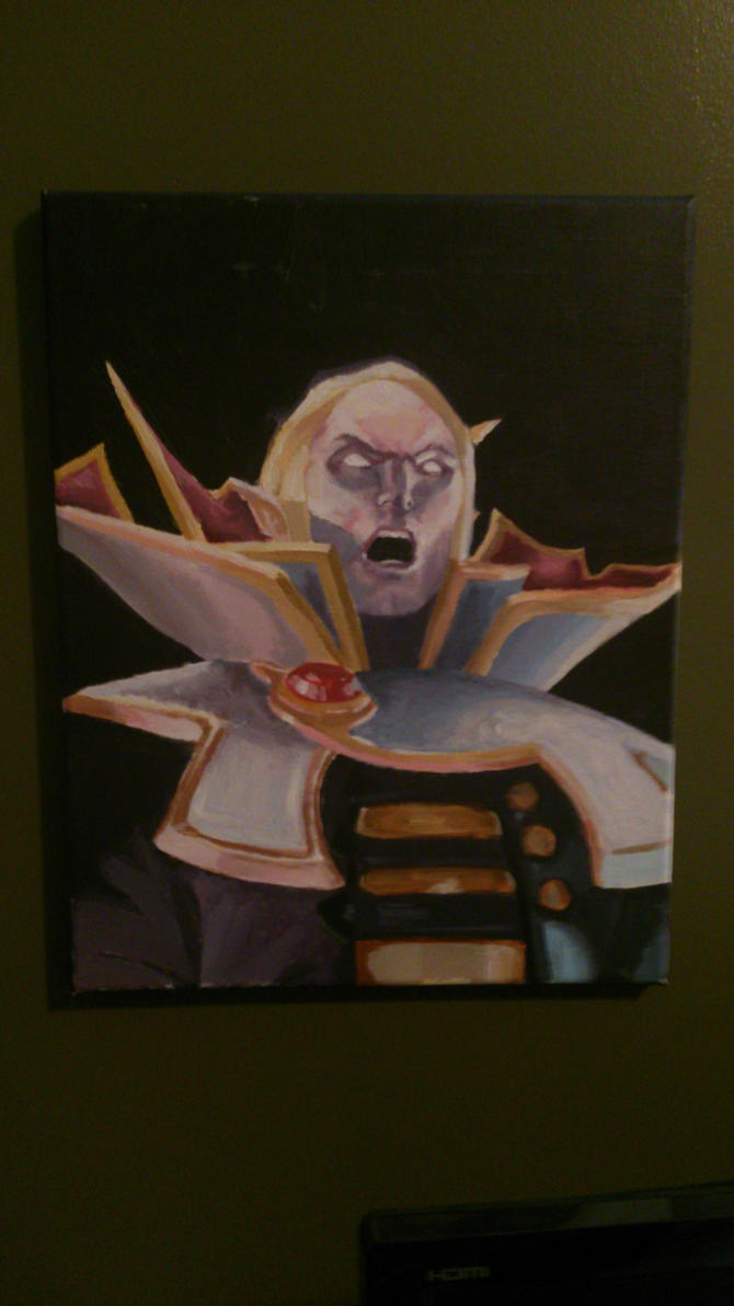 Dota 2 : Invoker  Painting by channahcrux-of-dream
