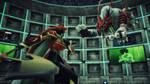 Digimon Amethyst Guild: Suzeraimon vs DinoTigermon by foxielalala