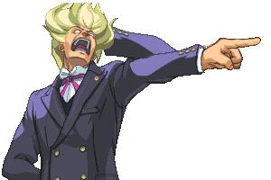 Kristoph Gavin: Super Attorney by FangStiltzskin