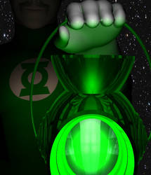 A Green Lantern by Tuffers-Art