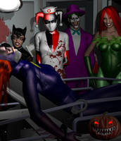 Halloween in Gotham II by Tuffers-Art