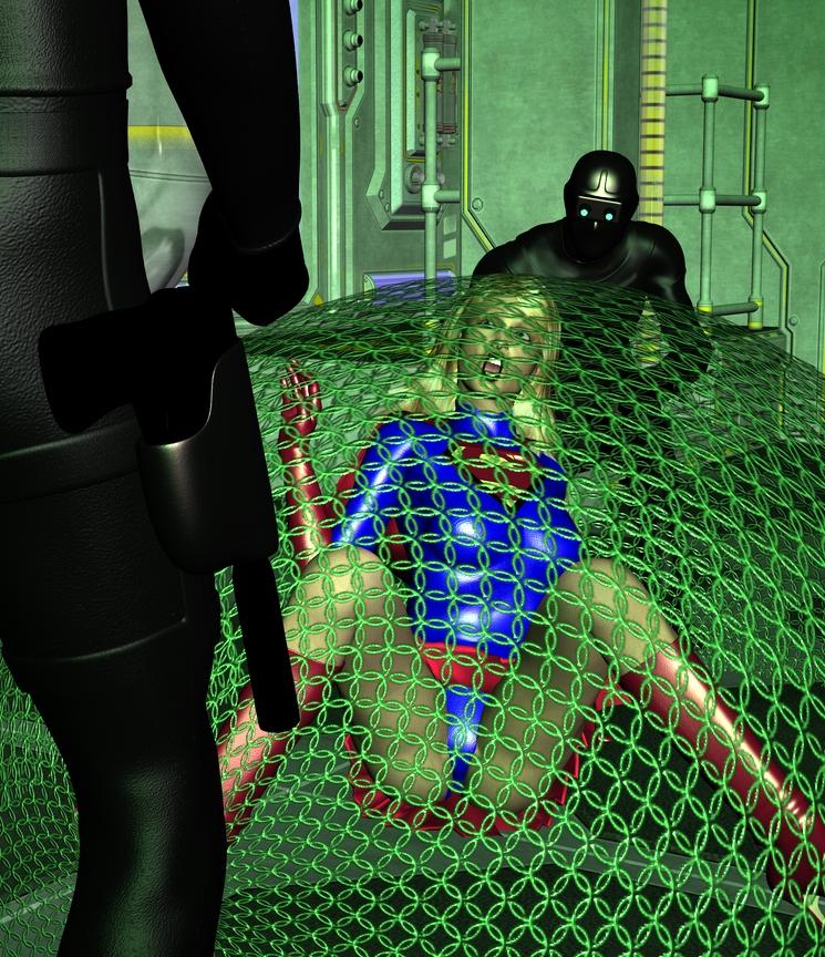 Kryptonite Trap by Tuffers-Art