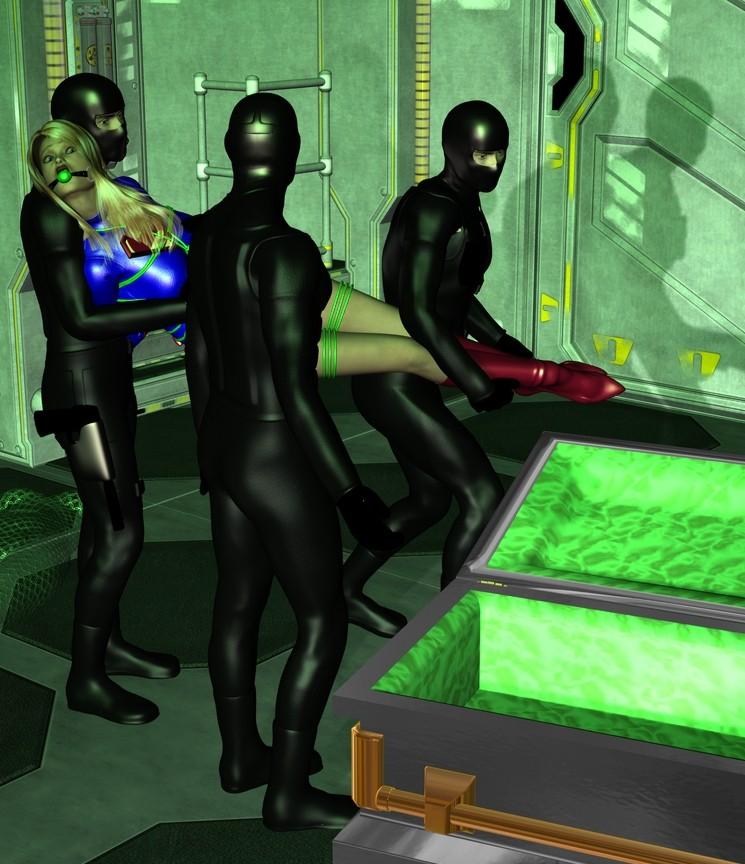 Kryptonite Trap Part II by Tuffers-Art