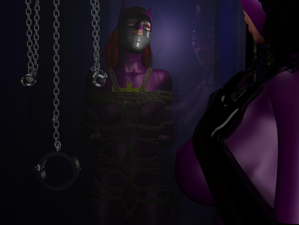 Catwoman bondage hardcore pics