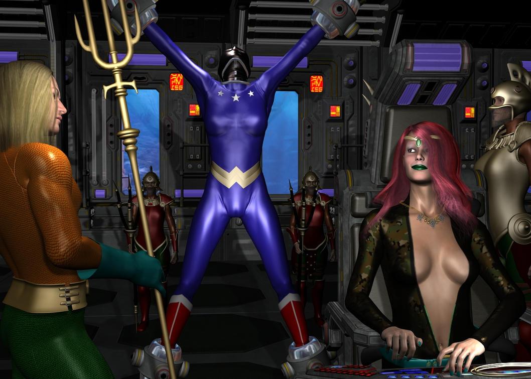 Wonder Woman Peril Deviantart