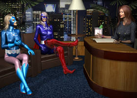 Chat Show by Tuffers-Art