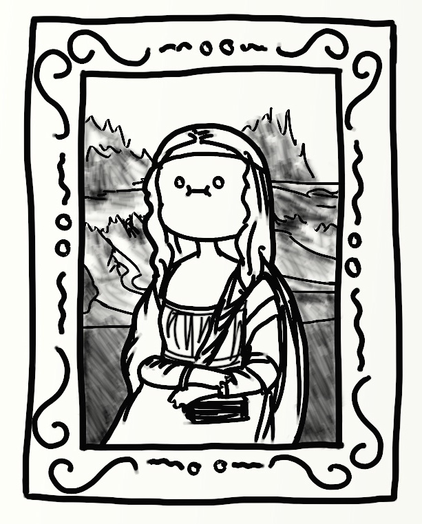 Mona Lisa by bababug