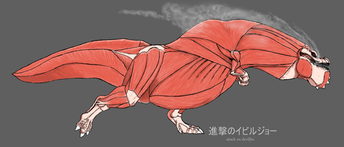 The Colossal Deviljho by r-heinart