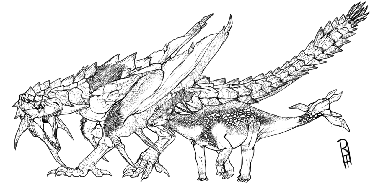 Rathian by TheMacronian
