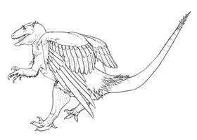 Dino Griffin #1 by r-heinart