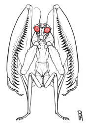 The Very Lonely Mothman