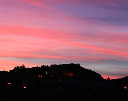 Mentre il sole alle spalle pian piano va giu'..(2)