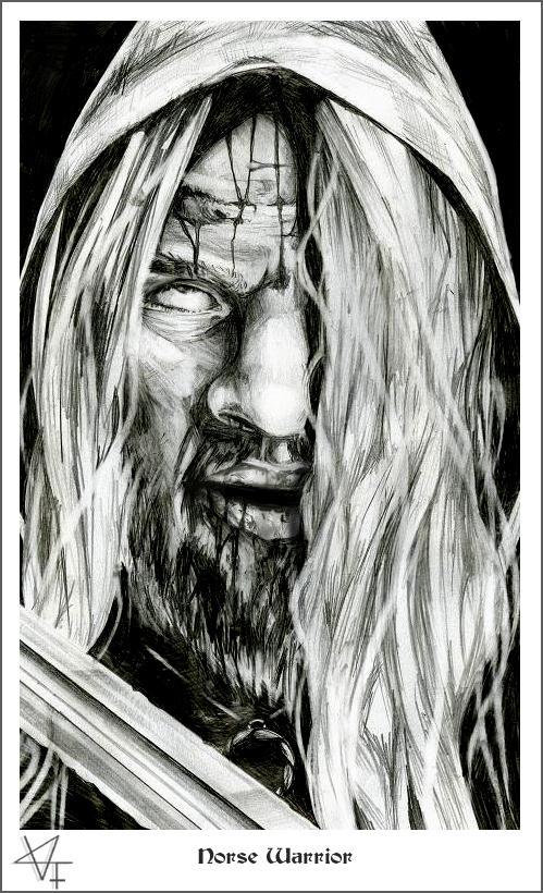 Norse Warrior by valdyr-fenriz