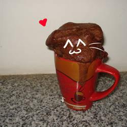 Brownie cat by Tassy