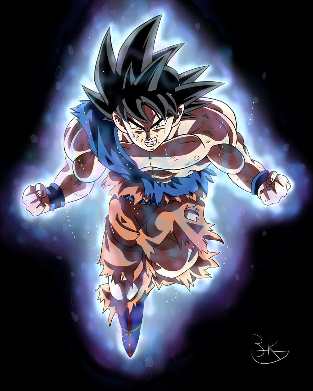 Son Goku Ultra instinct by deriavis on DeviantArt