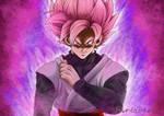 Super Saiyan Rose Goku Black by deriavis