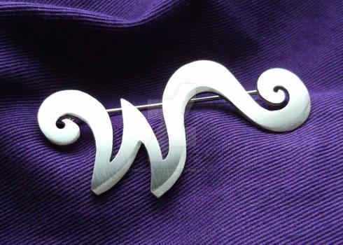 Wonka brooch