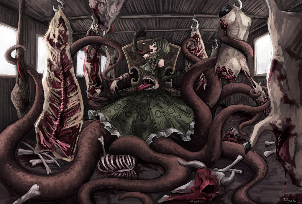 Carnivorous by Ray-kbys