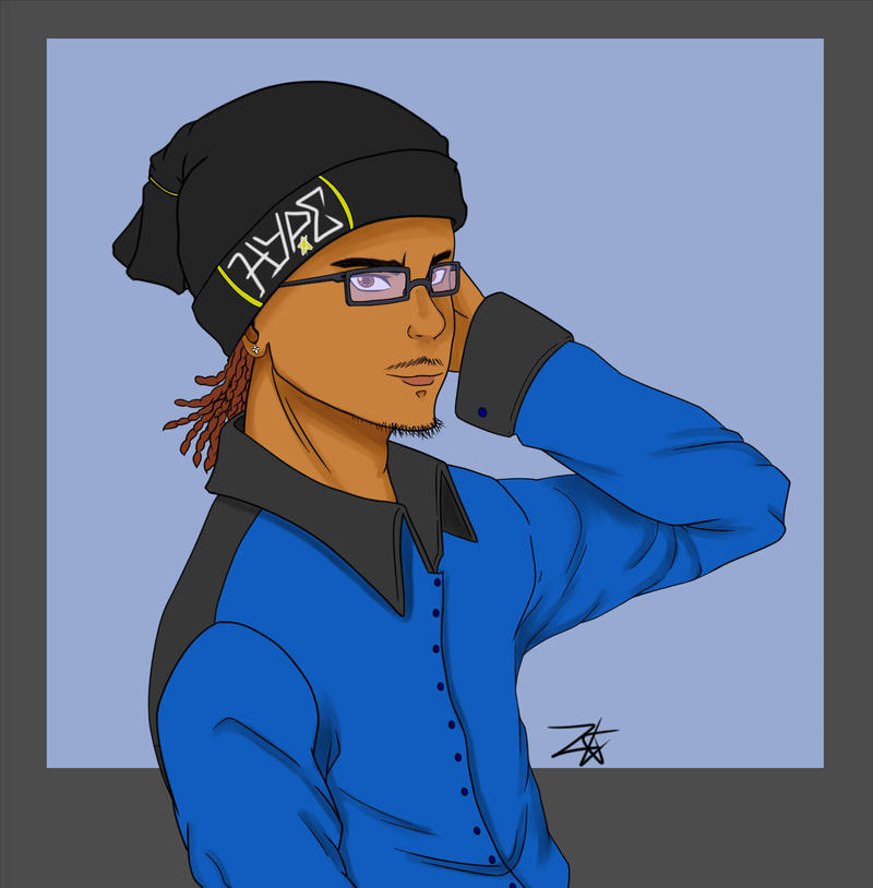 Draw Yourself Tag by ZakOnestar