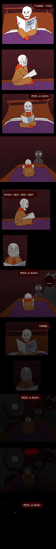 [Warning: Creepy?] Peek-a-boo by Maxlad
