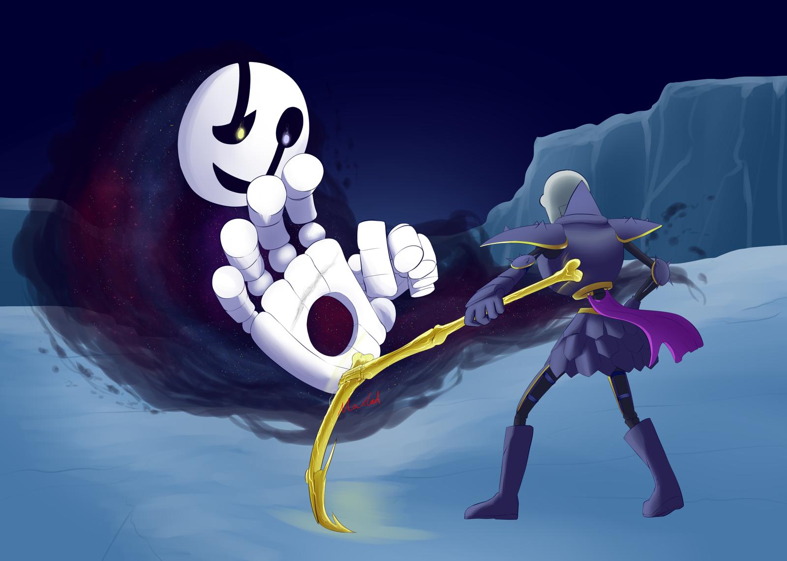[Rivertale] Fight by Maxlad
