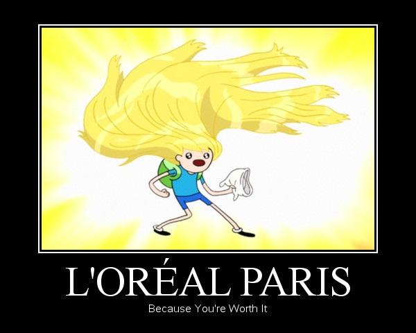 l'Oreal Paris - Adventure Time - Finn by AtilioA