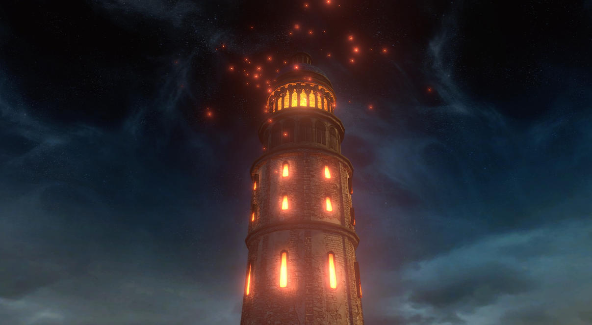 Heide's Tower of Flame by AtilioA