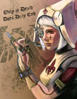 Sister Hospitaller by PvtSerrano