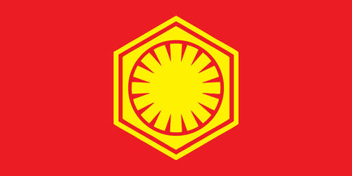 First Order Flag (Soviet Style) by HussarZwei