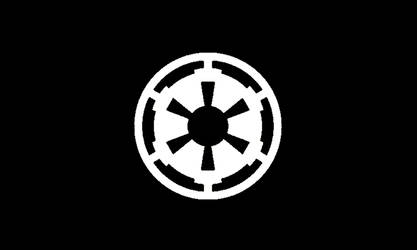 Imperial Flag Black Standard by HussarZwei