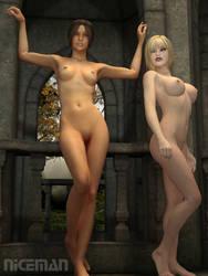 Pinup Fantasy 2:  Big 'n Small by NICELabs