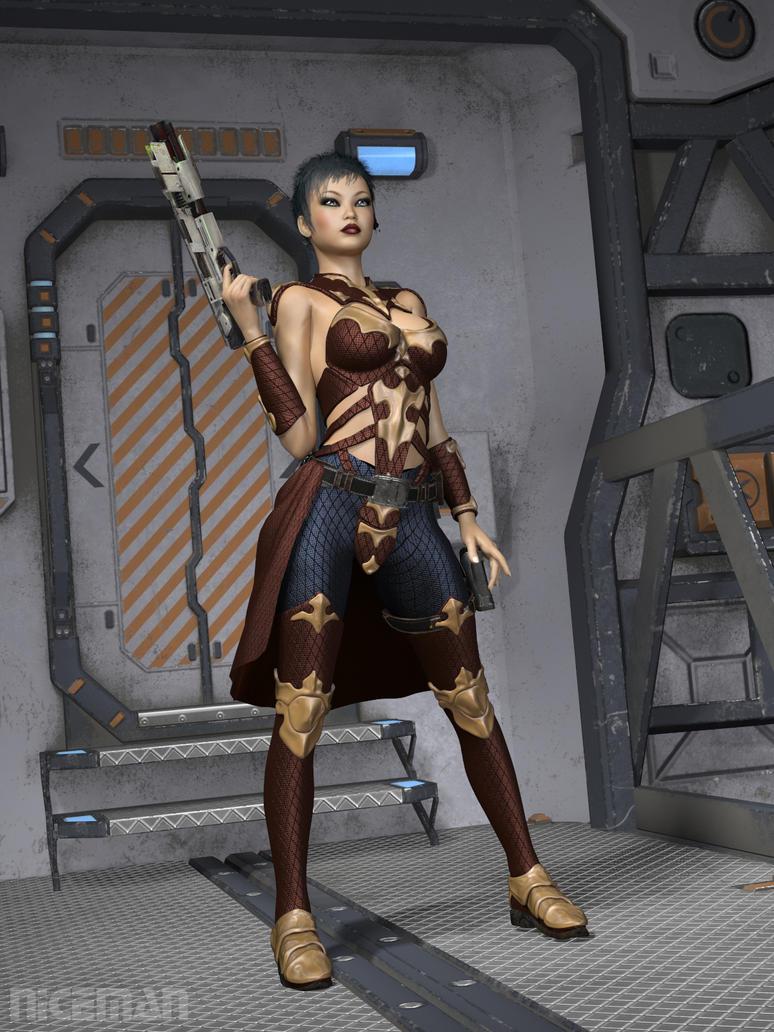 Traveller RPG: Noble's Bodyguard NPC by NICELabs