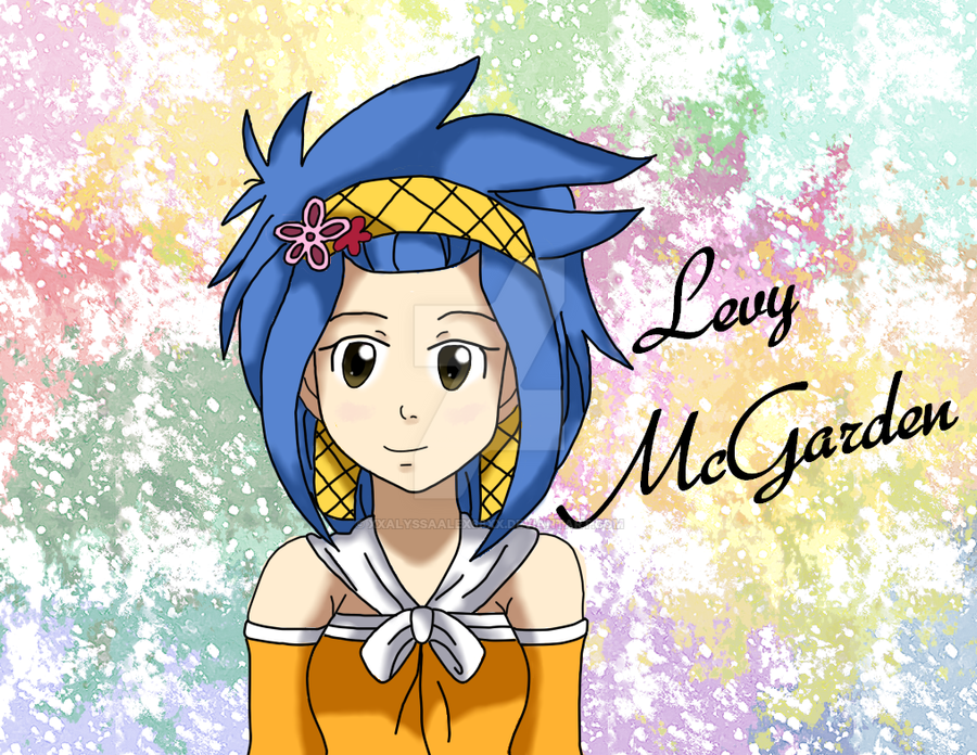 Levy McGarden- Colored by xXAlyssaAlex88Xx