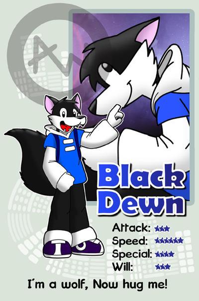 'Rmk' Black Dewn s DA ID by AlexenW