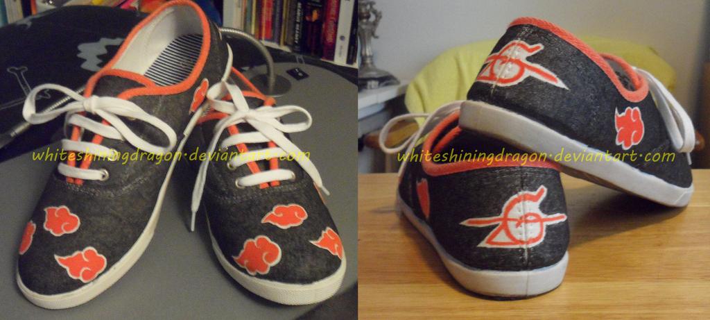 how to make akatsuki shoes