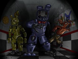 Those Loveable Animatronics by Kenzoe64