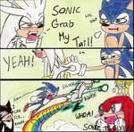 Sonic 'Grab My...' Meme Wtf
