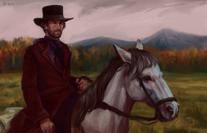 Clint Eastwood by Havaniero-Giese