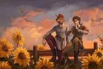 Sunflowers by Havaniero-Giese