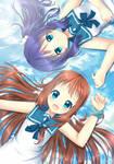 Manaka and Chisaki