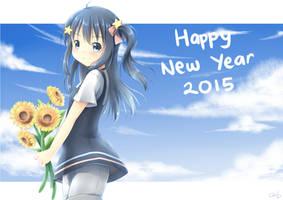 Happy New Year 2015! by hikariin25