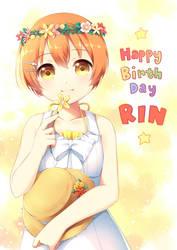 Happy Birthday, Rin! by hikariin25