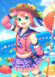 Summer Beach by hikariin25