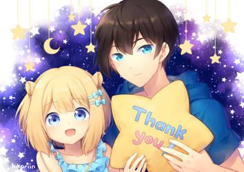 Aki Cheril Thanks by hikariin25