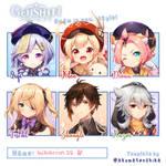 Genshin Impact sixfanart