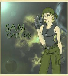 Sam Carter : Warrior by TerylSG