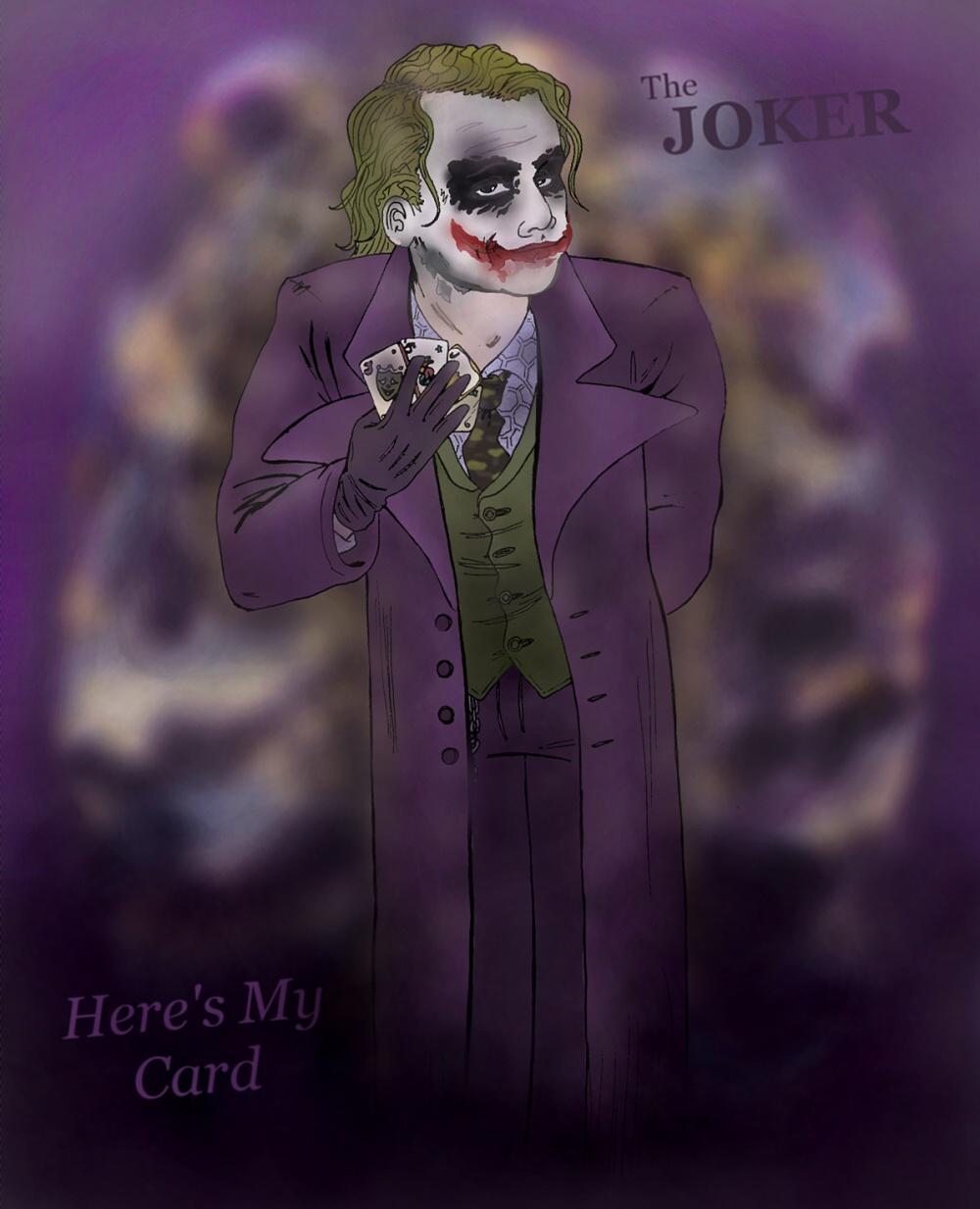 The Joker - Here's My Card by TerylSG