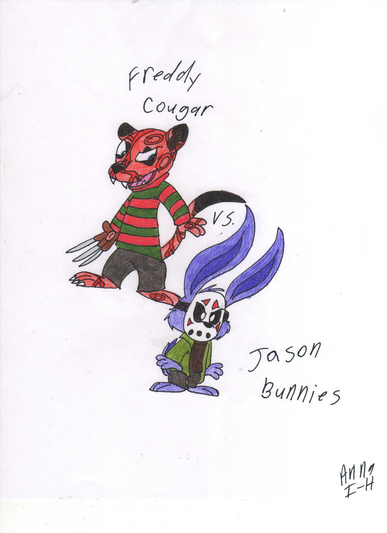 Freddy cougar vs jason bunnies by happychipmuk on deviantart - Pictures of freddy cougar ...
