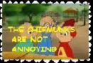 the chipmunks are not annoying stamp by happychipmuk