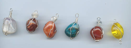 Assorted Wrapped Stones
